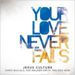 YOUR LOVE NEVER FAILS (CD)