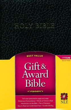 NLT- GIFT&AWARD BIBLE